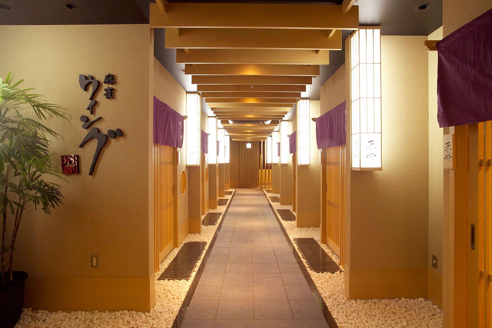 名古屋の貸卓 麻雀ウィング 個室
